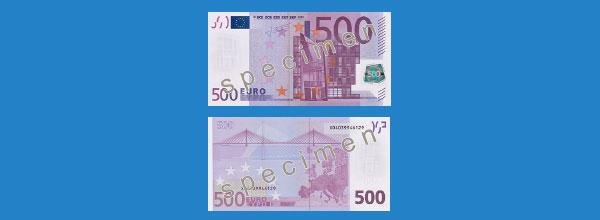 wohnlandschaft für 500 euro 500 euro schein wird abgeschafft